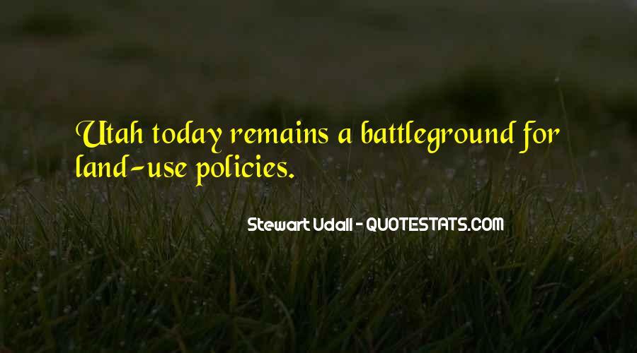 Quotes About Battleground #1170151