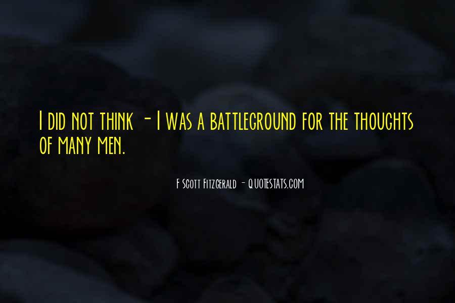 Quotes About Battleground #1239869