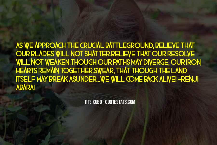 Quotes About Battleground #1451825