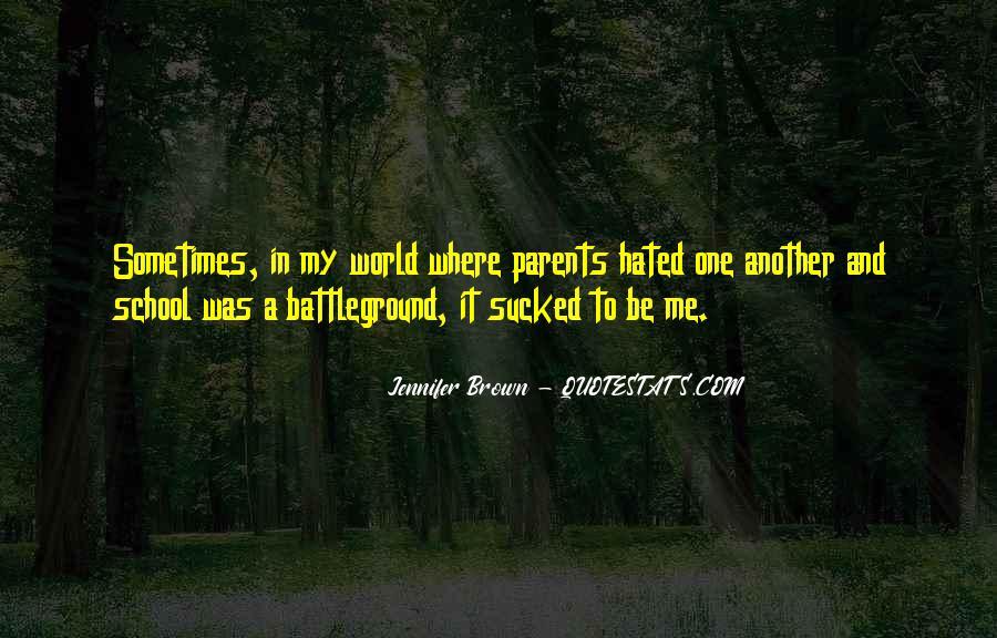 Quotes About Battleground #1747799