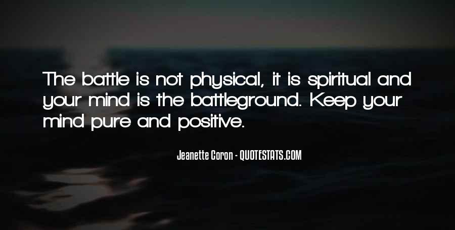 Quotes About Battleground #248264