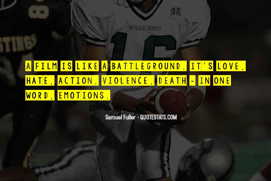 Quotes About Battleground #347781
