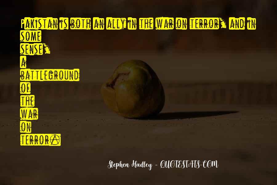 Quotes About Battleground #89161