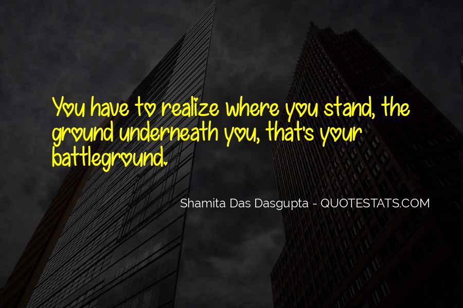 Quotes About Battleground #944299