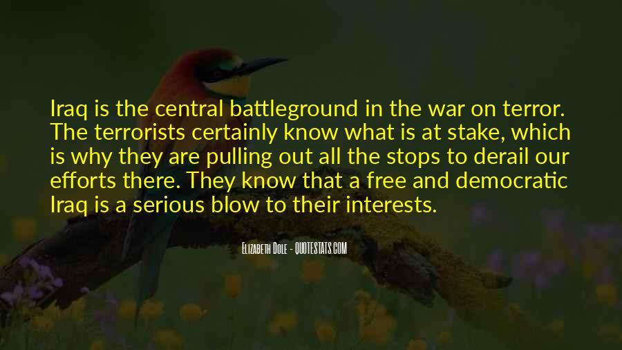 Quotes About Battleground #990551