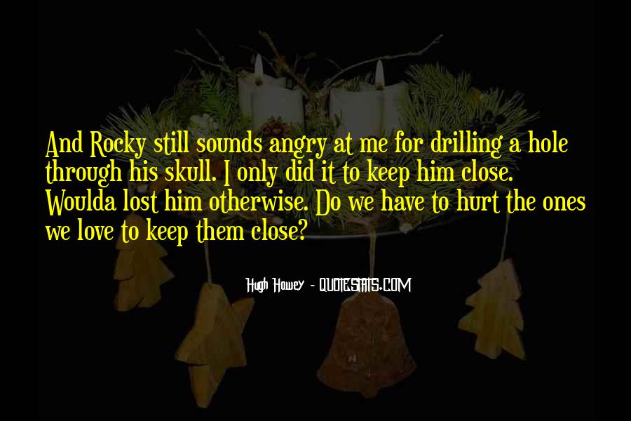 Quotes About Rocky Love #1661445