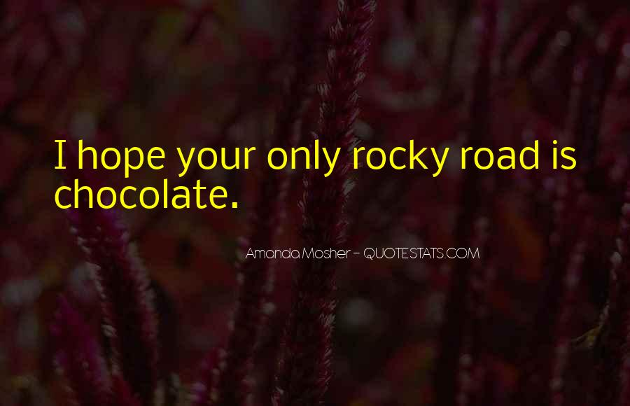 Quotes About Rocky Love #1874651