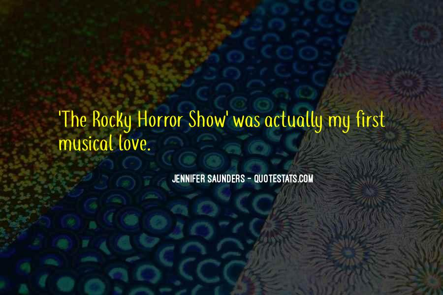 Quotes About Rocky Love #274323