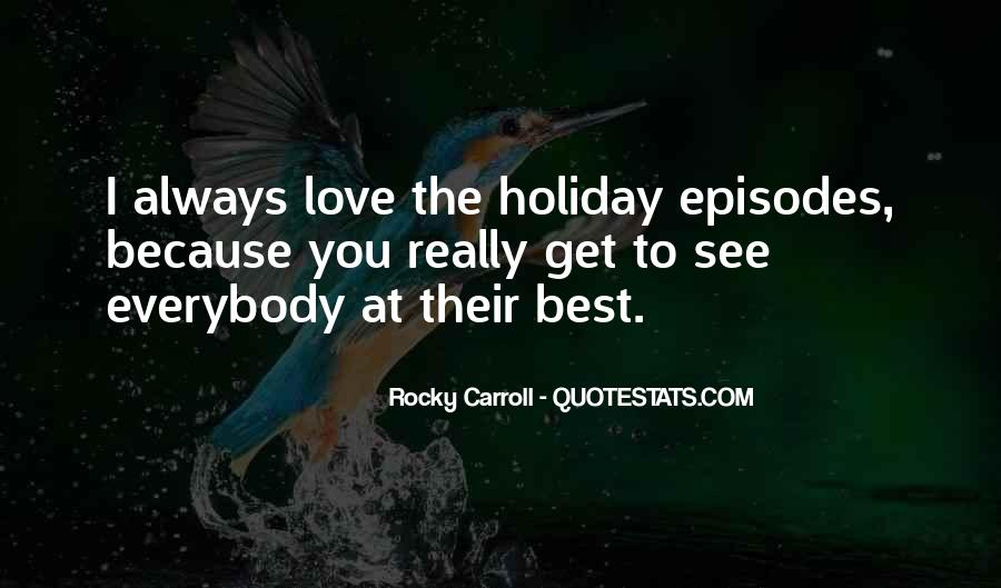 Quotes About Rocky Love #388926