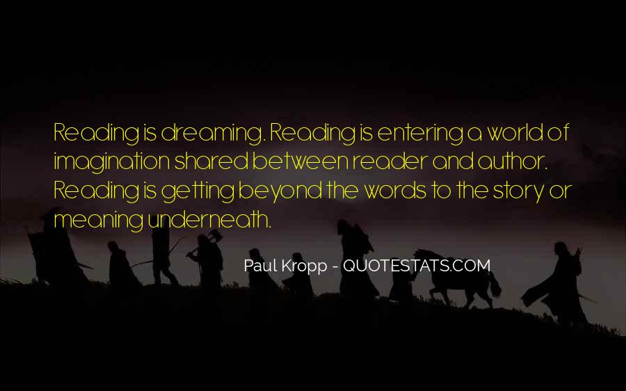 Quotes About Reading Story Books #1103541