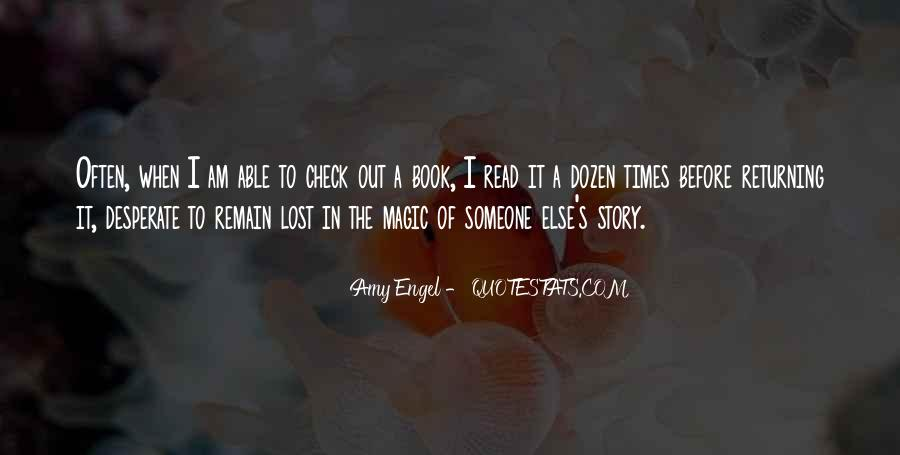 Quotes About Reading Story Books #248744