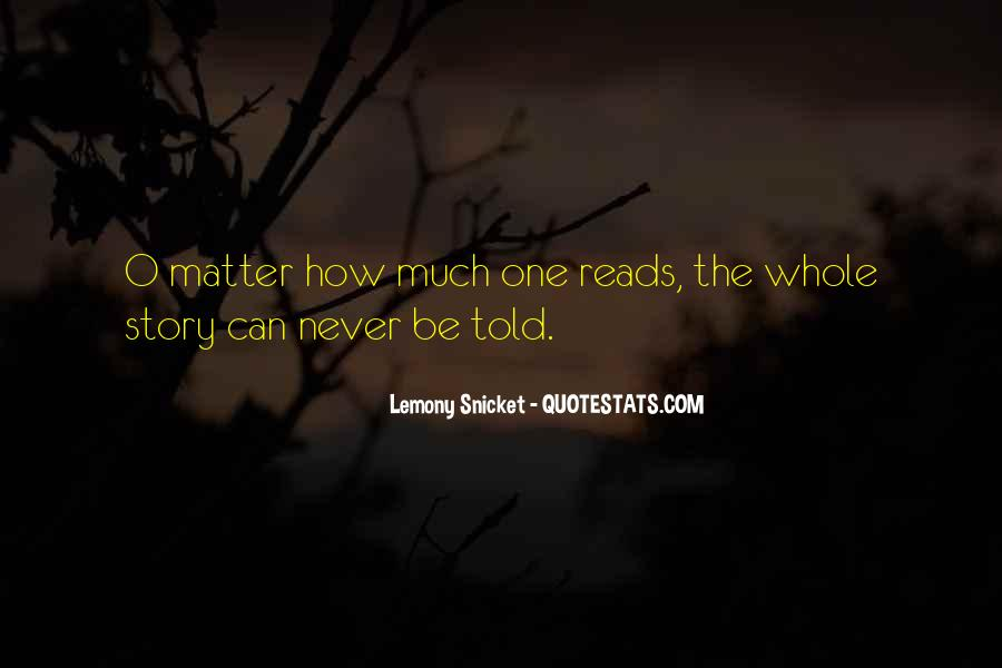 Quotes About Reading Story Books #433173