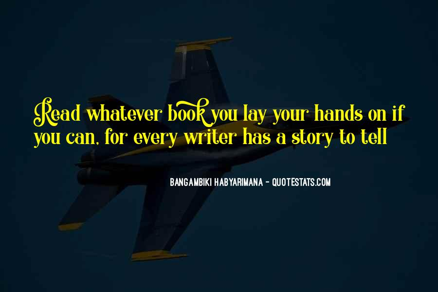 Quotes About Reading Story Books #523099
