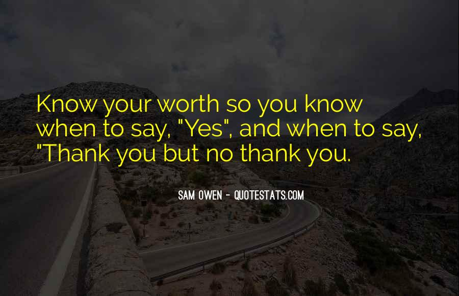 Quotes About Say Thank You #100786