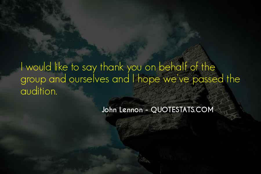Quotes About Say Thank You #145834