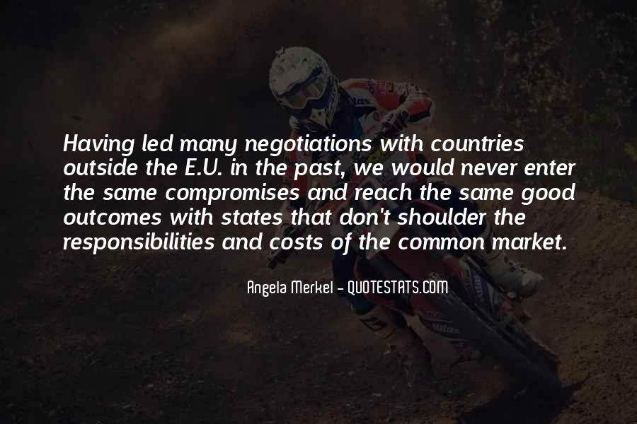 Quotes About Good Negotiations #265586