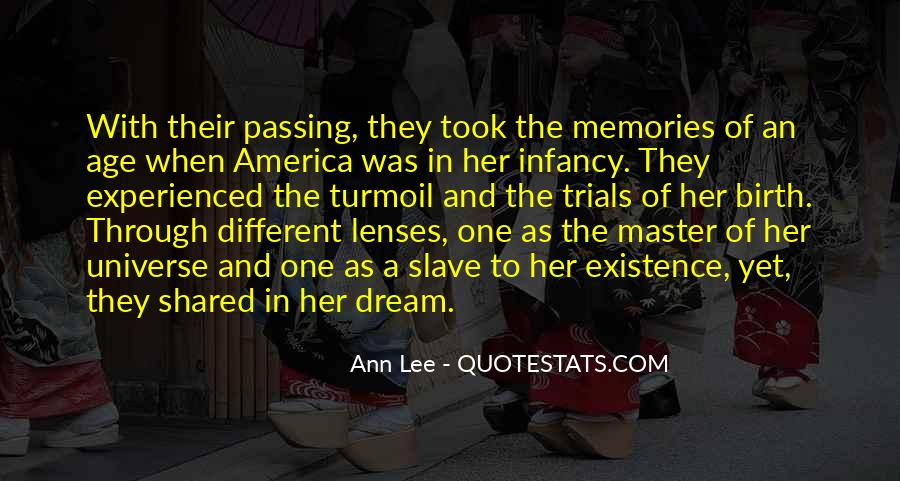 Quotes About Shared Memories #1875345