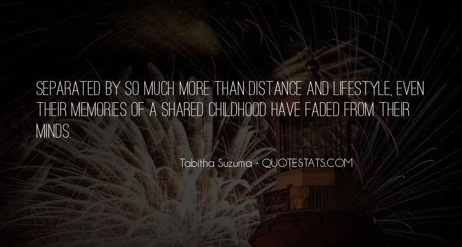 Quotes About Shared Memories #988710