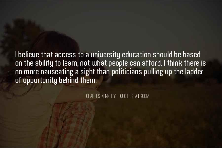 Quotes About Politicians And Education #603376