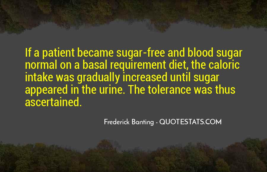 Quotes About Sugar Free #1484581