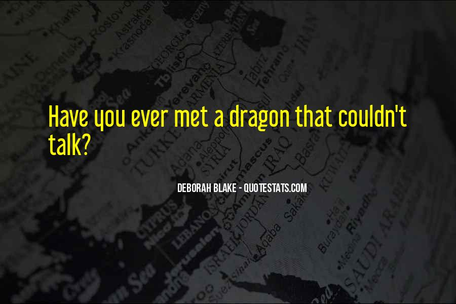 Quotes About Dragons #102194