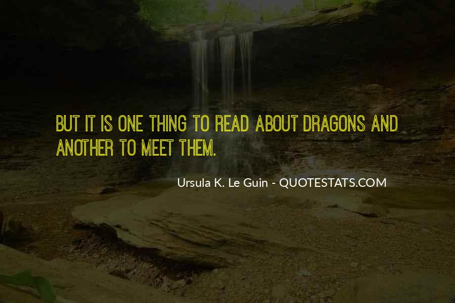 Quotes About Dragons #154636