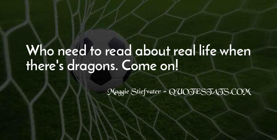 Quotes About Dragons #157279