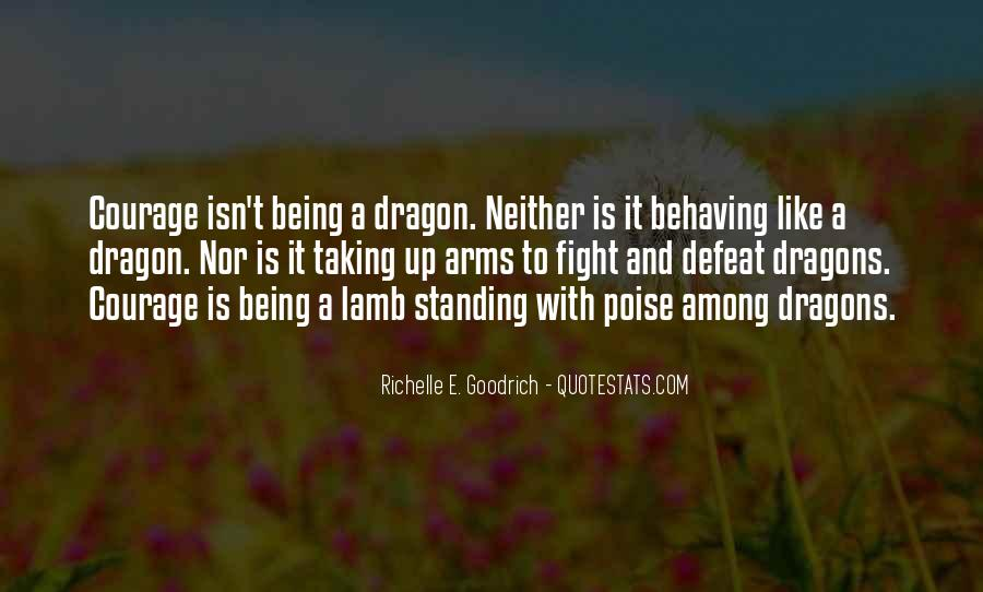Quotes About Dragons #25417