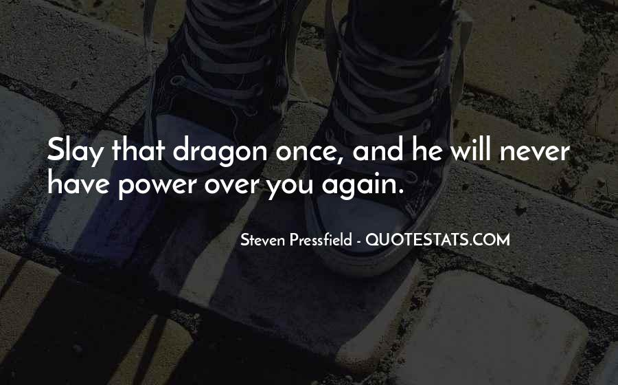 Quotes About Dragons #74095