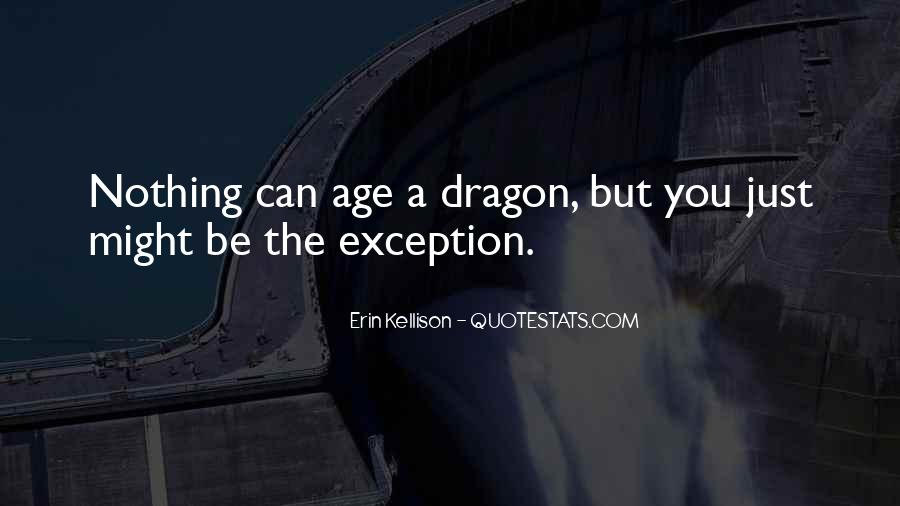 Quotes About Dragons #88717