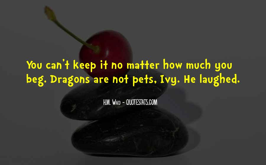 Quotes About Dragons #93568