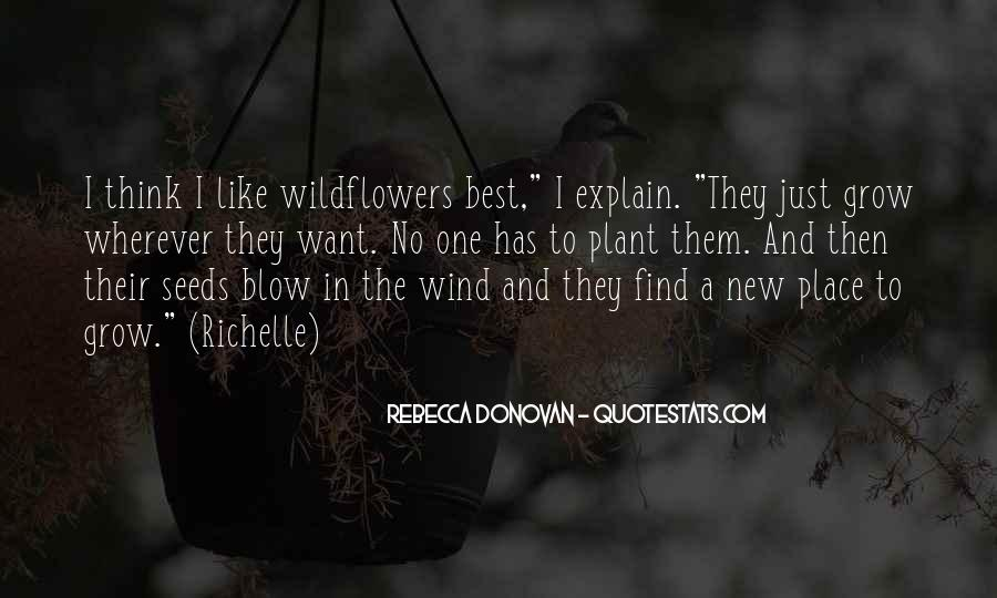 Quotes About Seeds And Flowers #1727741