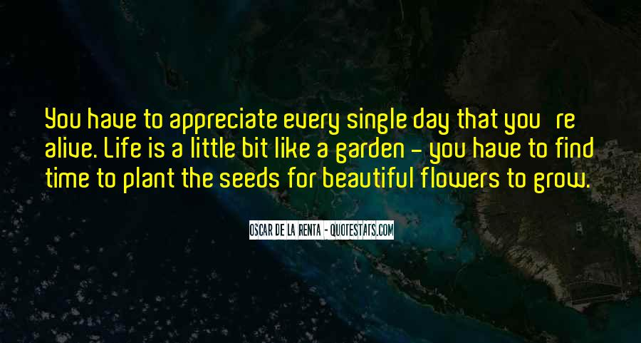 Quotes About Seeds And Flowers #349150