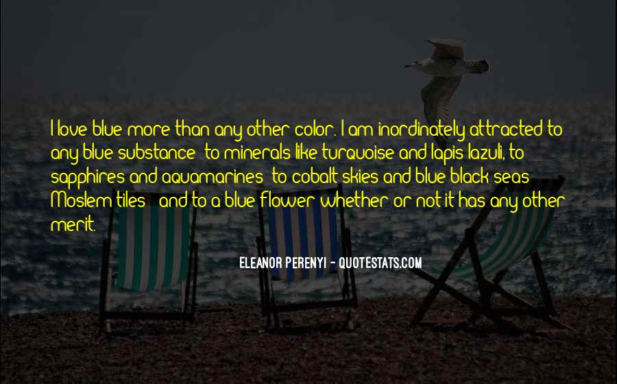 Quotes About Black And Blue #1067709