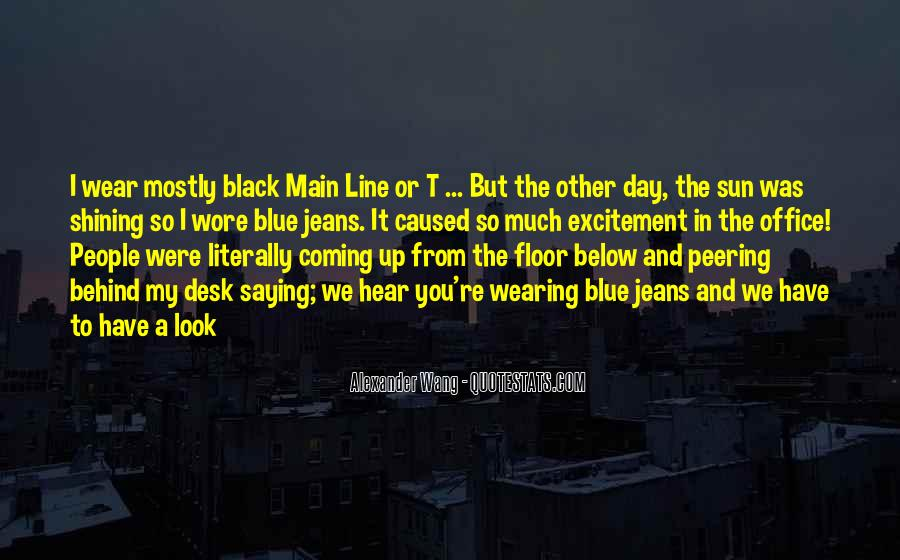 Quotes About Black And Blue #1070715
