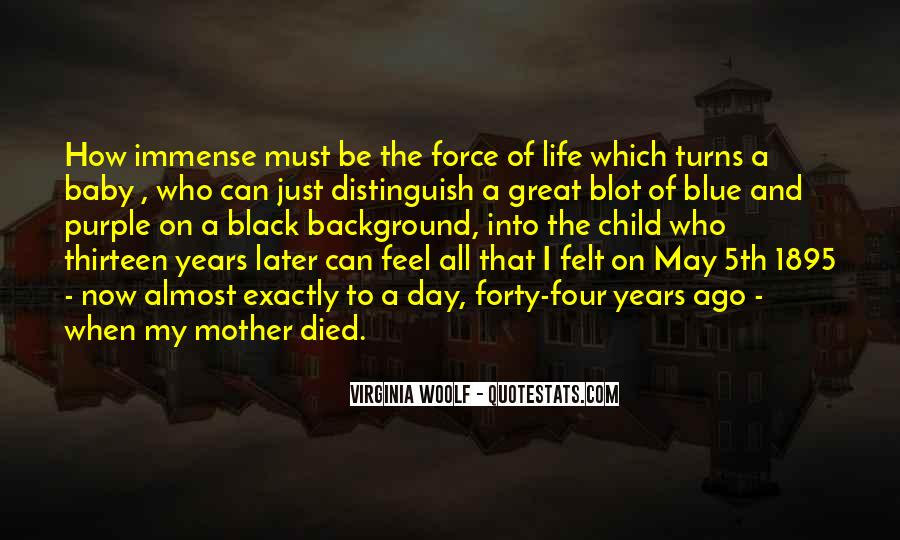 Quotes About Black And Blue #208033