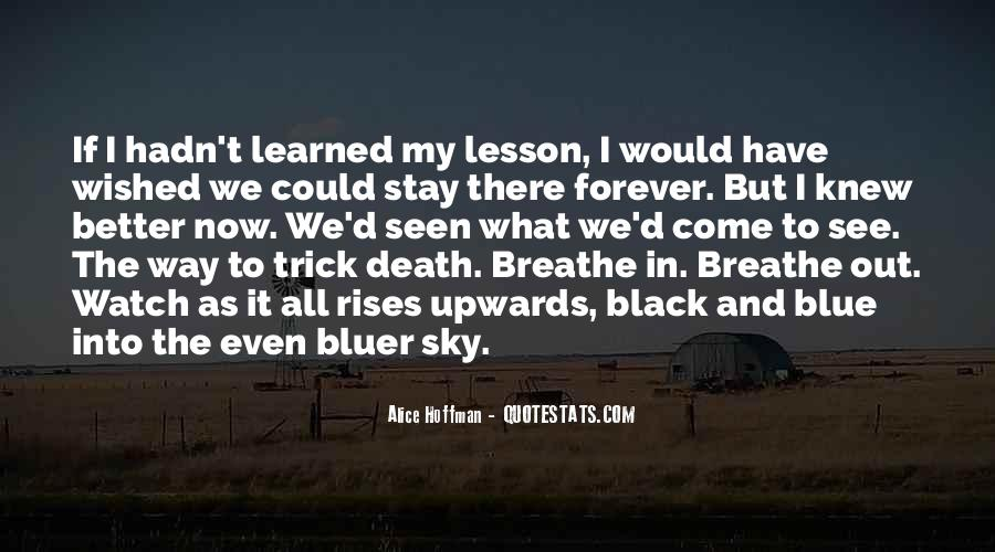 Quotes About Black And Blue #245844