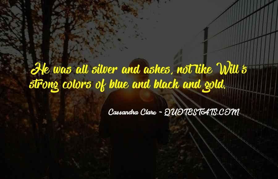 Quotes About Black And Blue #414995