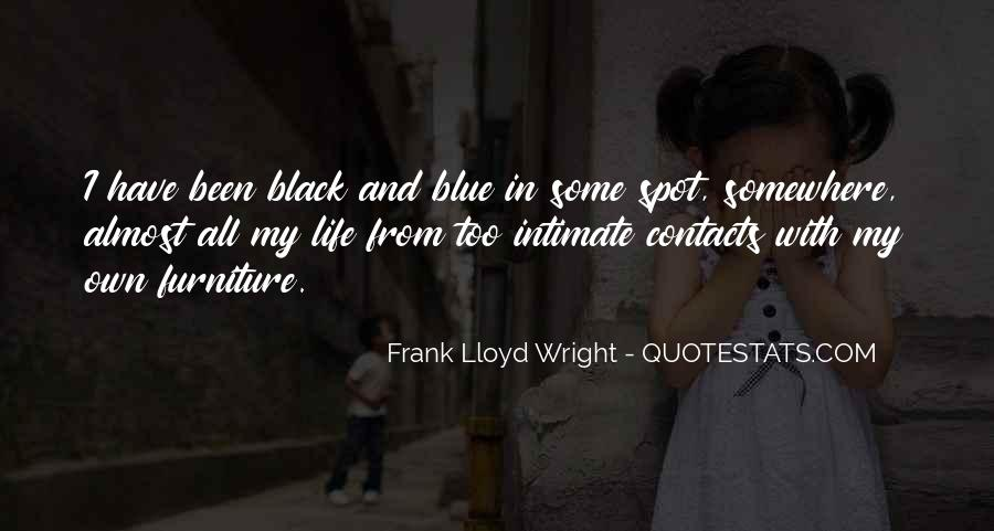 Quotes About Black And Blue #82902