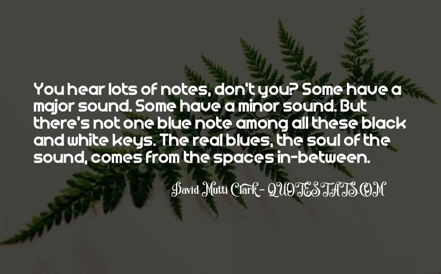 Quotes About Black And Blue #922326