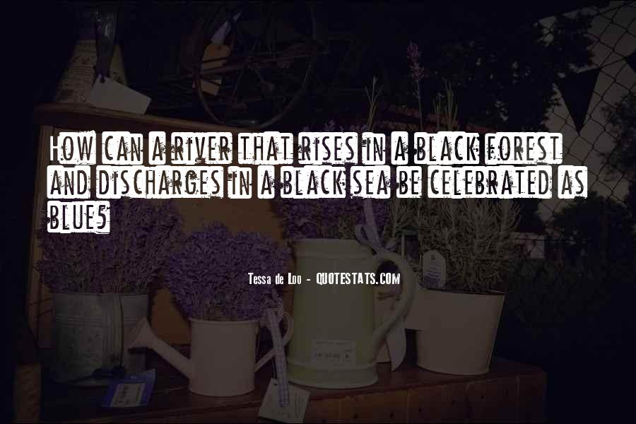 Quotes About Black And Blue #96120