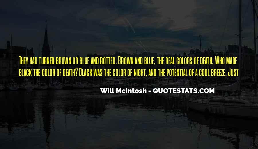 Quotes About Black And Blue #979551