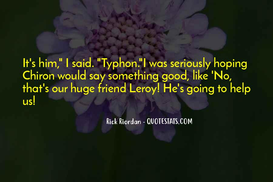 Quotes About Typhon #1512274