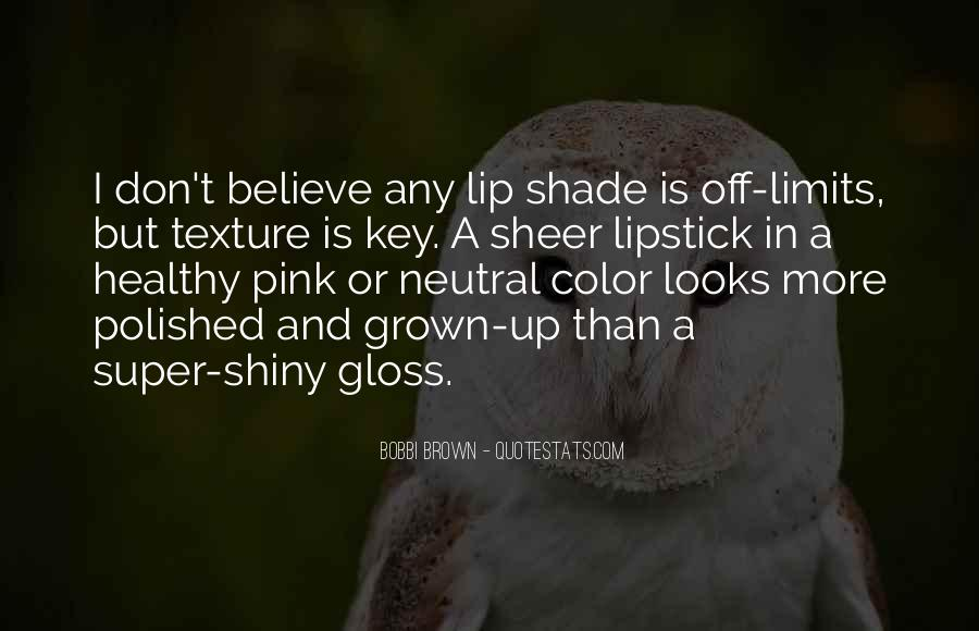 Quotes About Pink Lipstick #683702