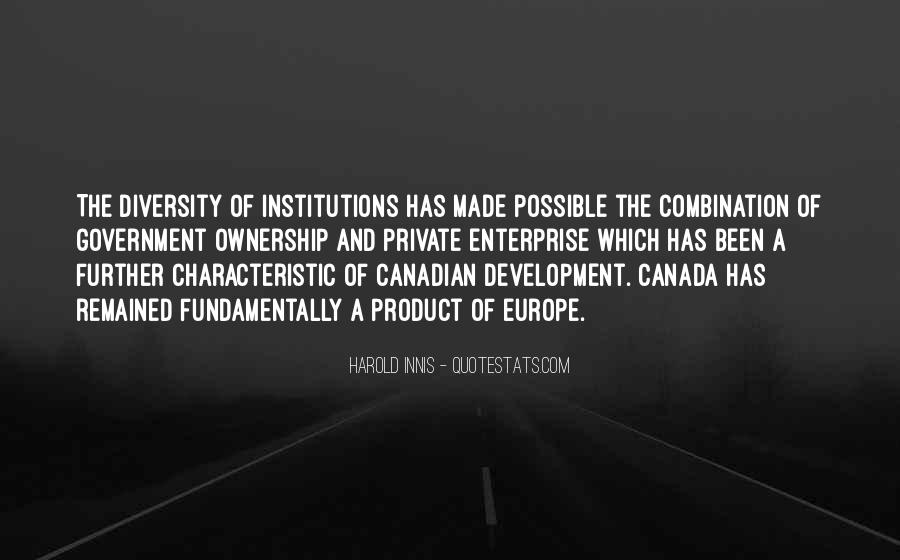 Quotes About Canada's Diversity #1241821