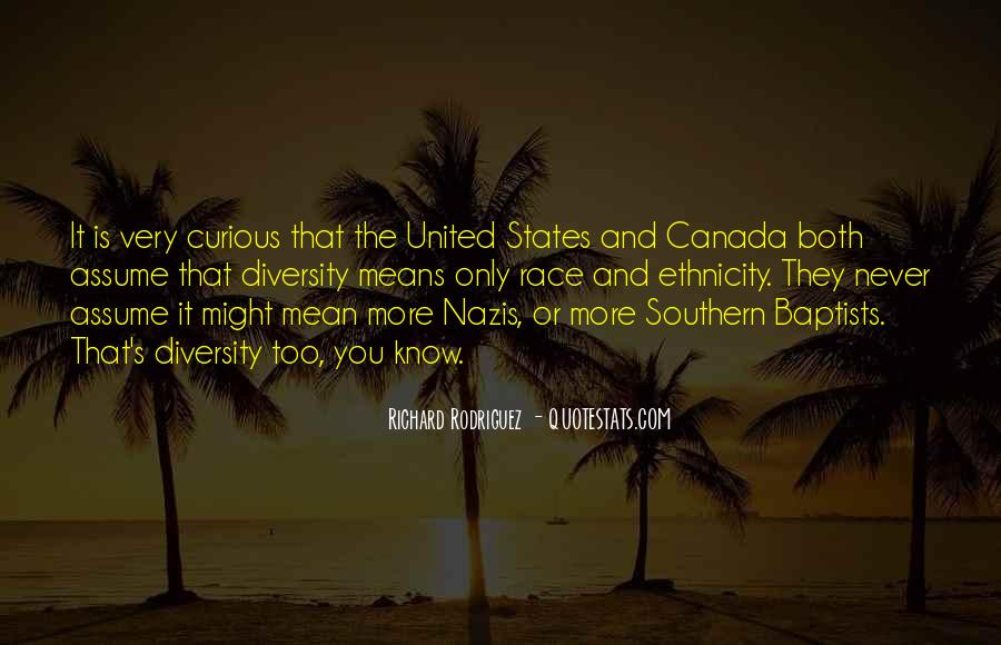 Quotes About Canada's Diversity #1805044