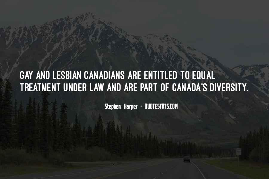 Quotes About Canada's Diversity #752975