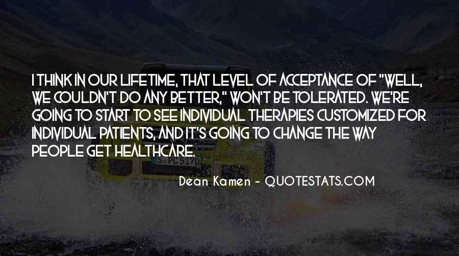 Quotes About Healthcare Change #1123495