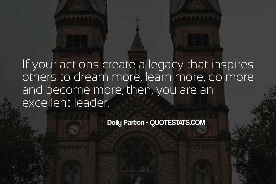 Quotes About Leader Who Inspires #1657481