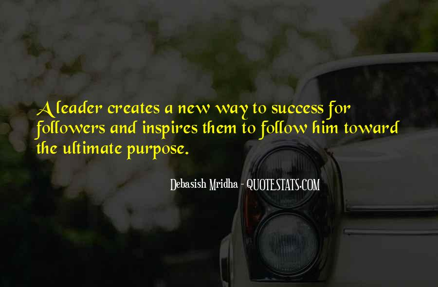 Quotes About Leader Who Inspires #914346